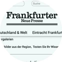 Frankfurter Neue Presse über PR BERATER Dirk Rabis
