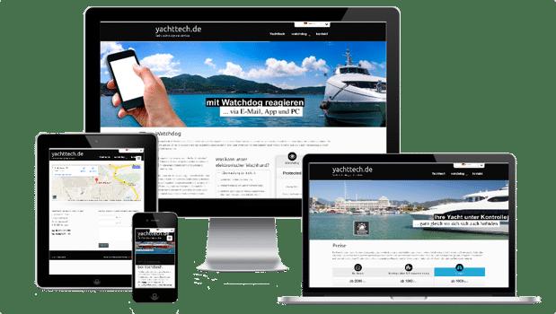 Responsive Websiteentwicklung ermöglicht eine zeitgemäße Präsenz auf allen Endgeräten
