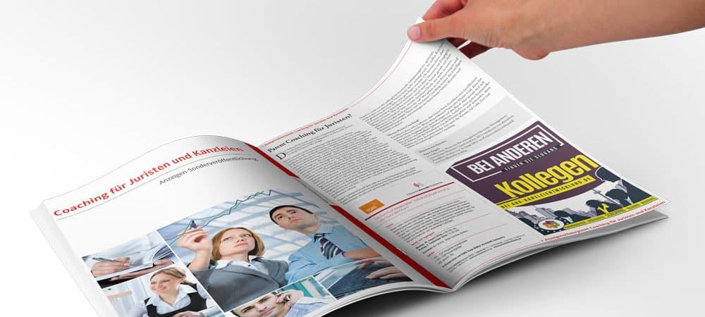 Anzeigen-Magazine-Broschuere-Design