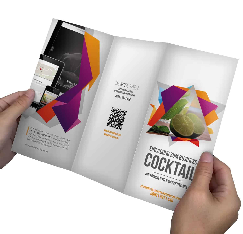 Business Promotion Flyer erstellen - DEMO aussen