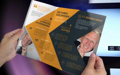 TV-Moderator Dirk Rabis beim deutschen Wirtschaftsgipfel 2019