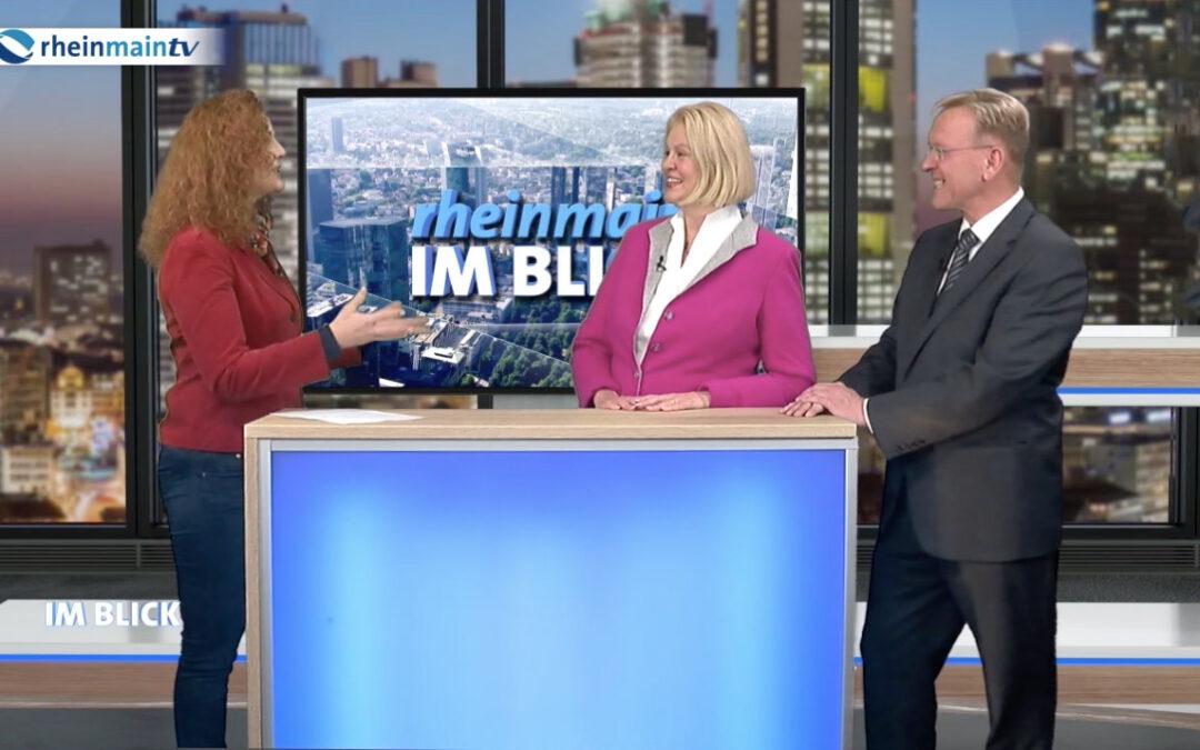 PR Berater Dirk Rabis moderiert ExpertenTalkshow im Fernsehen