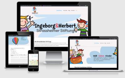 Ingeborg und Herbert Strassheimer Stiftung erhält neuen Internetauftritt