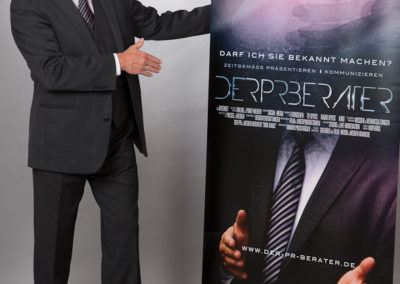 Der PR Berater Dirk Rabis. PR-Rollup
