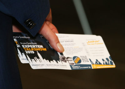 Experten Talkshow Tickets. Casting Frankfurt / You-Grand Tickets